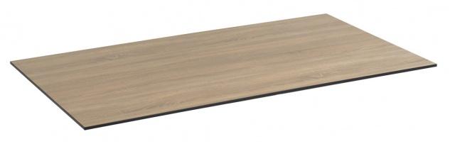 Compact Tischplatte 160x90 HPL Eiche Sägerau