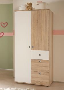 Sleepy Babyzimmer Komplettset Schrank + Regal + Wickelkommode + Bett MDF - Vorschau 5