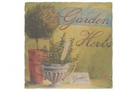 Kissen Garden Herbs Baumwolle&Polyester Bunt