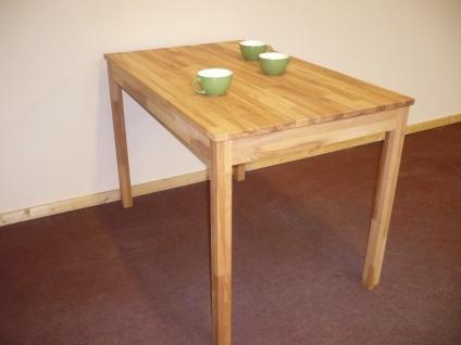 Esstisch Esszimmertisch Küchentisch Tisch 110x70 cm Kernbuche massiv geölt