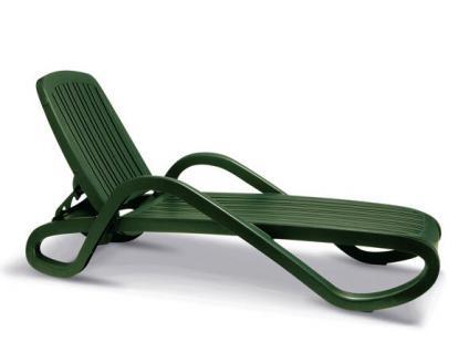 Gartenliege Relaxliege Sonnenliege Wellnessliege Gartenmöbel stapelbar Lounge