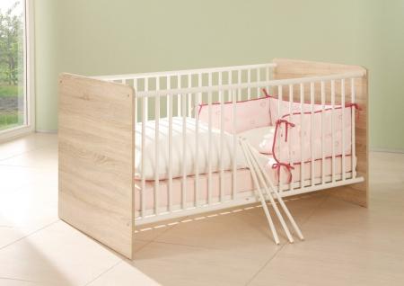 Sleepy Babyzimmer Komplettset Schrank + Regal + Wickelkommode + Bett MDF - Vorschau 4