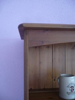 Regalaufsatz Tellerregal Aufsatzregal Buffet Aufsatz Regal Massivholz Kiefer - Vorschau 2