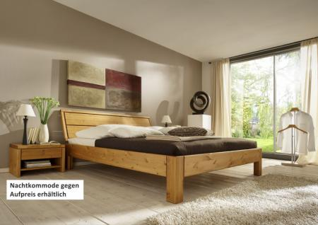 Bett Systembett auch in Überlänge Kiefer massiv gelaugt geölt