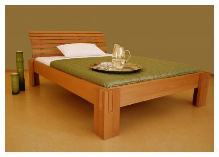 Bett Doppelbett Bettgestell Metallfrei Holzbett versch. Holzarten versch. Größen