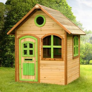 Spielhaus Holzhaus Kinder Haus Playhouse Holzspielhaus FSC Holz Zeder TÜV - Vorschau 1
