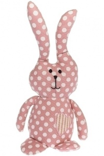 Türstopper Hase Lea Stoff&Polyester Rosa