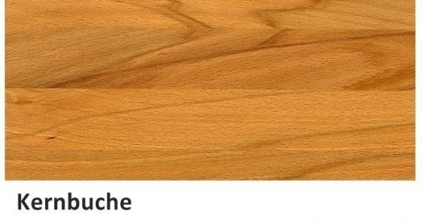 Ecktisch, Wildeiche massiv geölt 80x80cm mit Ablage Lo762 - Vorschau 4