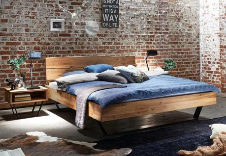 Bett Holzbett Massivholzbett Doppelbett Eiche Buche versch. Größen Bettgestell