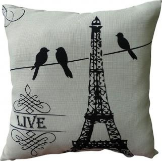 Kissen Live Baumwolle&Polyester Weiß