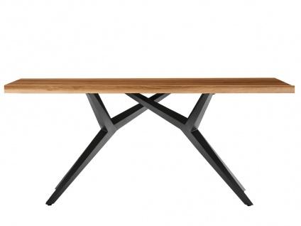 TISCHE & BÄNKE Tisch 180x100 cm recyceltes Teakholz Natur