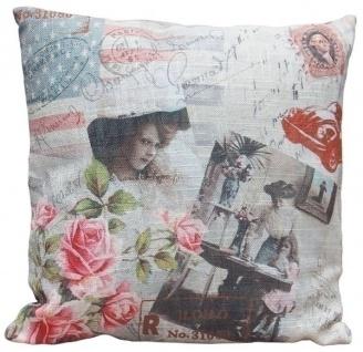 Kissen American Women Baumwolle&Polyester Bunt