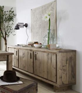 Sideboard Anrichte Kommode Kiefer Fichte massiv rustikal alt aufgearbeitet 3 trg
