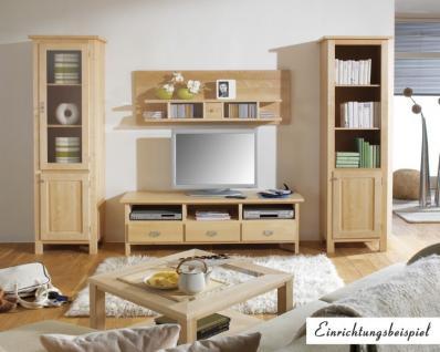 Bücherregal Regal Hochschrank Wohnzimmer Standregal Birke massiv gewachst - Vorschau 2