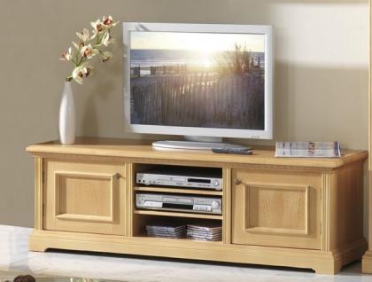 TV-Anrichte TV-Board Hifi Möbel TV-Tisch Fichte massiv honig gewachst