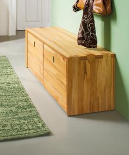 bank truhenbank flurbank garderobe container kernbuche wildeiche massiv ge lt kaufen bei saku. Black Bedroom Furniture Sets. Home Design Ideas