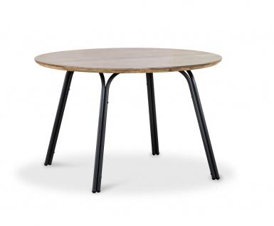 Symi Dining Tisch Stahl Anthrazit