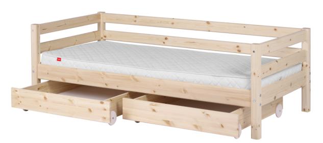 Flexa Classic Bett Einzelbett Kinderbett Jugendbett Schubladen Kiefer massiv