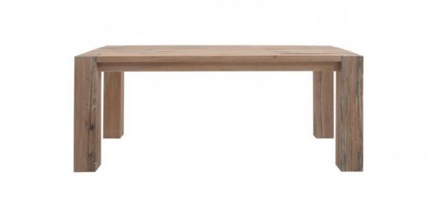 Esstisch Esszimmertisch Tisch Esszimmer Küche Wildeiche massiv Wuchsrissen