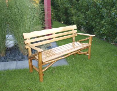 Knüppelholzgarnitur Gartenmöbel-Set Gartengruppe Gartenmöbel Garten-Set 4teilig - Vorschau 3