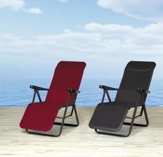 Relaxliege Liegestuhl Sonnenliege Gartenliege verstellbar Gartenmöbel Sessel