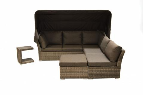Loungegruppe Lounge-Set Rattanmöbel Gartenmöbel Polyrattan Relaxgruppe Garnitur