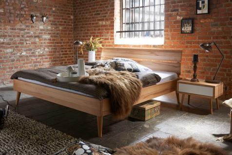 Doppelbett Bett Holzbett Bettgestell Massivholzbett Eiche Buche versch. Größen