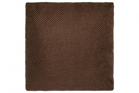 Kissen Standard Polyester Braun