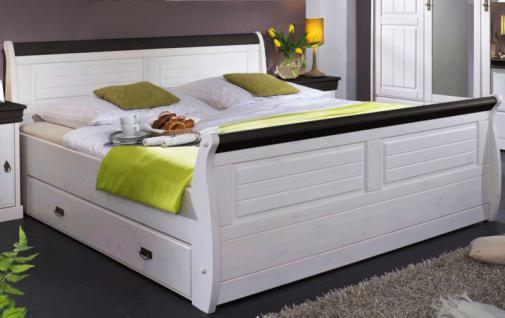 Gästebett Bett Ehebett Doppelbett Landhausstil Kiefer massiv