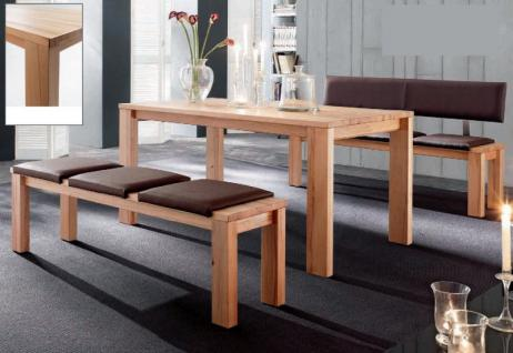 Esstisch Tisch Esszimmertisch Esszimmer Küche Kernbuche massiv geölt - Vorschau 2