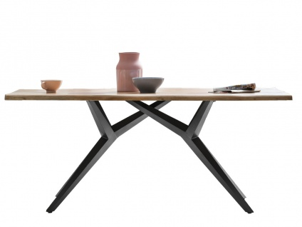 TISCHE & BÄNKE Tisch 160x90 Akazie Natur