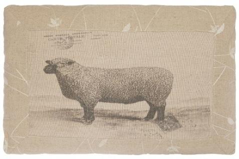 Kissen Sheep Rechteckig Baumwolle&Polyester Beige