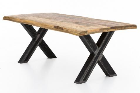 TISCHE & BÄNKE Tisch 220x100 Mango Natur