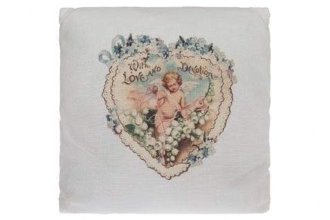 Kissen Love and Devotion Baumwolle&Polyester Bunt