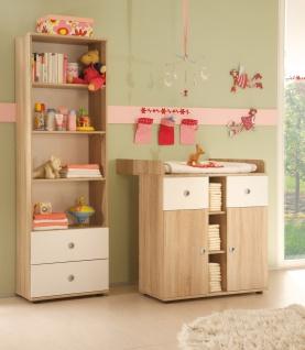 Sleepy Babyzimmer Komplettset Schrank + Regal + Wickelkommode + Bett MDF - Vorschau 2