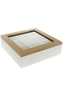 Kasten Provence MDF Holz&Weiß