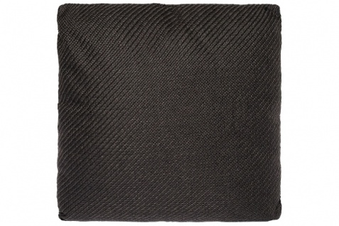 Kissen Standard Polyester Dunkelgrau