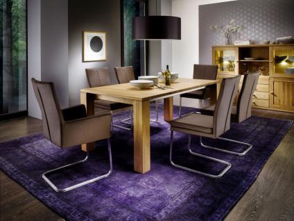Esstisch Esszimmertisch Tisch Küchentisch Esszimmer Wildeiche ausziehbar