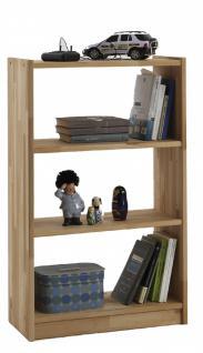 Regal Kernbuche vollmassiv gewachst Standregal Raumteiler Bücherregal