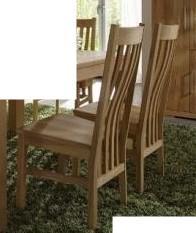 Stuhl Sitz Sitzgelegenheit Kernbuche massiv Holzsitz 2 Stück geölt - Vorschau