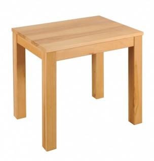 Esszimmertisch Massivholz 80x60 Speisetisch Tisch Kernbuche
