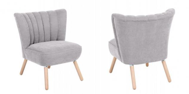 Sessel Sitzmöbel Stuhl Retrosessel Retro Stil bunt weich Flachgewebe Stoffbezug