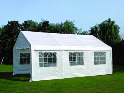 Partyzelt Gartenpavillon Bierzelt Festzelt Garten Überdachung Sonnenschutz 4x6m