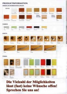 Regal Bücherregal Anbauregal individuell planbar Kiefer massiv geölt - Vorschau 3