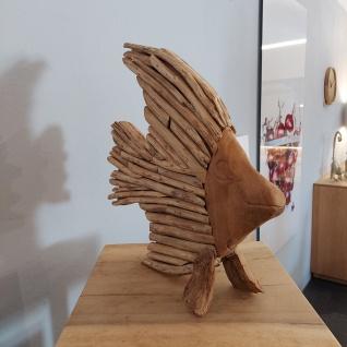Holz Fisch Deko