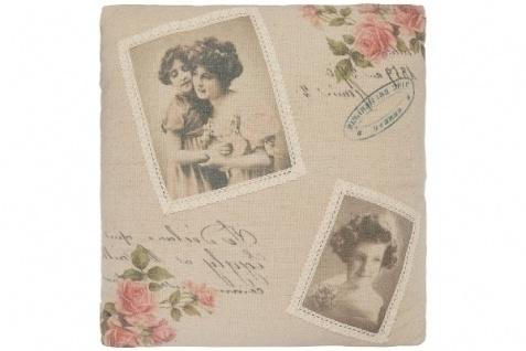 Kissen Memory Baumwolle&Polyester Bunt