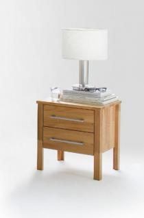 Schlafzimmer Komplett Set Kernbuche massiv geölt Kleiderschrank Bett modern - Vorschau 4