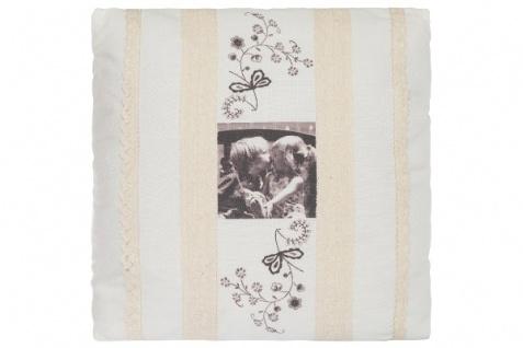 Kissen Kids Quadratisch Baumwolle&Polyester Weiß