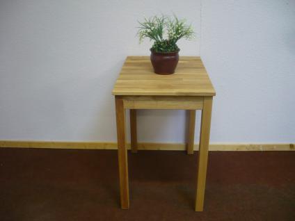 Esstisch Esszimmertisch Küchentisch Tisch 50x70 cm Wildeiche massiv geölt