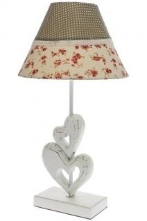 Romantik Lampe Celine Holz Bunt